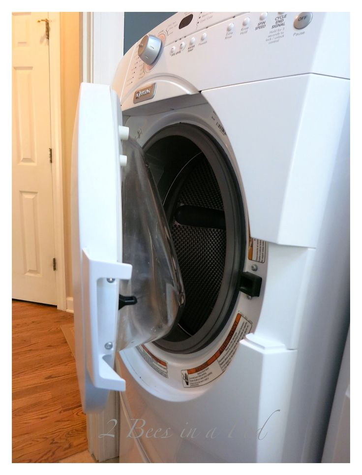 musty smell in washing machine