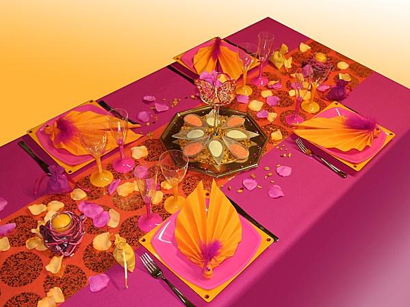 d coration de table th me inde deco repas bangladesh