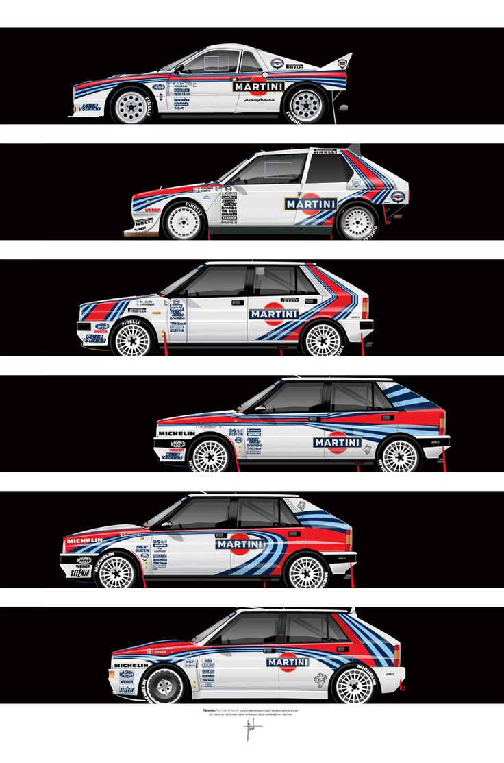 Lancia rally evolution