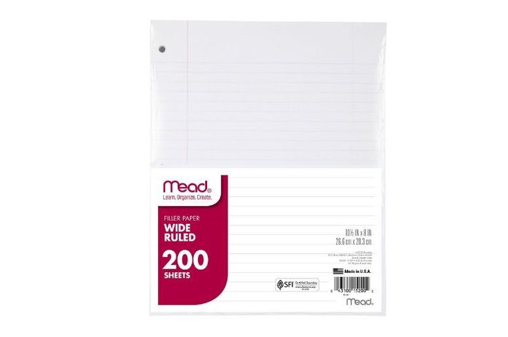Discount School Supplies Paper Filler For College Elementary Teaching Supplies  #Mead