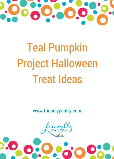 Unique non-food Halloween treat ideas.  Inexpensive non-food Halloween treat ideas. Join the Teal Pumpkin Project with confidence that all kids will love the allergy safe treats you're handing out this Halloween. www.friendlypantry.com