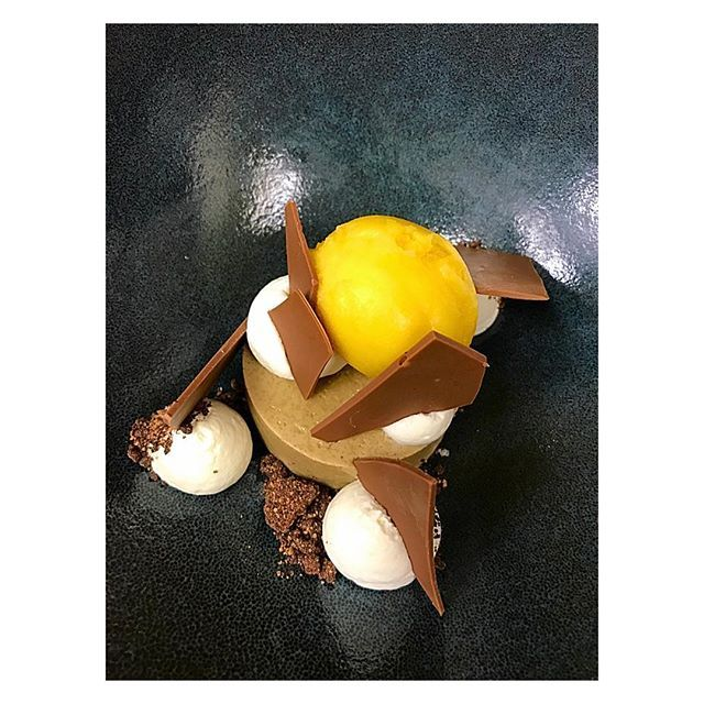 coffee custard•whipped cream•sea salt cocoa crumbs•milk chocolate• spiced orange sorbet. #food#foodie#foodgasm#foodpics#foodlove#foodislife#foodpost#foodieforlife#foodart#pastry#pastrycook#pastrylife#pastrylove#pastryart#pastrylover#sweets#yelp#zagat#sd#lajolla#eats#eater#dessert#lovefood #lajollalocals #sandiegoconnection #sdlocals - posted by كارلا  https://www.instagram.com/kaaaaaarla. See more post on La Jolla at http://LaJollaLocals.com