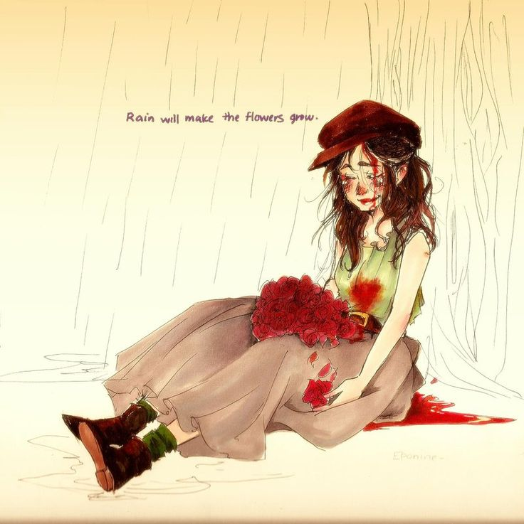 """les mis: little fall of rain"" | ~puerilis-carmen on deviantART"