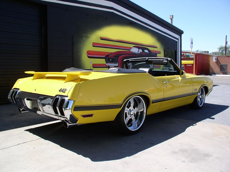 "1970 Olds 442 | 1970 Cutlass 442-""Just something I like!""-Funk Flex"