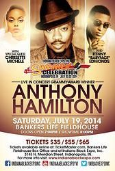 "Concert: Heritage Music Festival (Kenny ""Babyface"" Edmonds, Anthony Hamilton, Chrisette Michelle)"