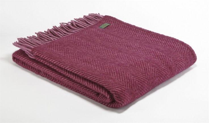 Tweedmill | Herringbone | Berry