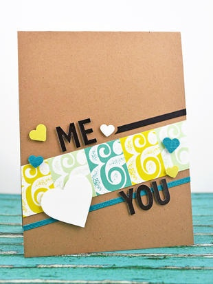 Me & You Card - by Our Change of Art