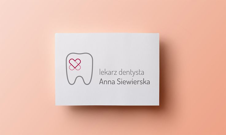 Dentist Anna Siewierska - logo - by Lotne Studio