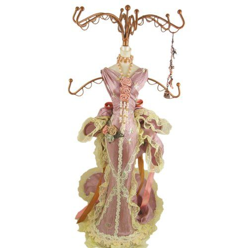 108 best Victorian Mannequin Jewelry Holder Necklaces images on