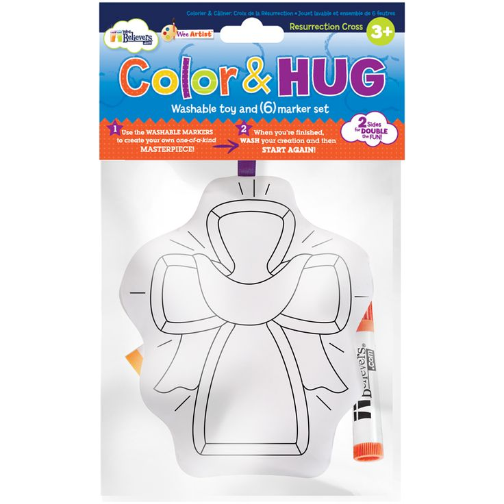12 best easter gifts images on pinterest easter gift catholic resurrection cross color and hug is a reusable plush coloring activity color the cross and basket ideaseaster gifttoyribbonthe crosscatholic negle Images