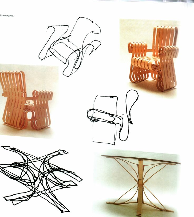 Bentwood Furniture 1989 1992 Chair Designs By Frank O