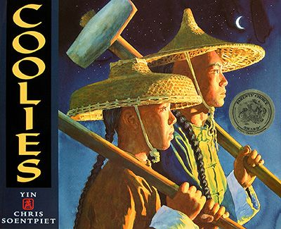 Coolies...Great book for teaching about the Chinese Immigration during the building of the Transcontinental Railroad.