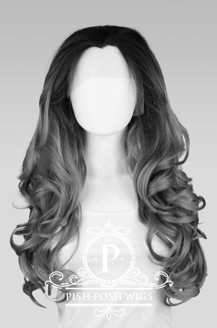 Home :: Shop Wigs :: Stefani - Gunmetal Grey Ombre