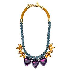 NAT KENT | Triple Trillion Necklace in Forbben Fruits $99.95 -  available at www.natkent.com.au