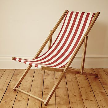 Stripey Vintage Deck Chair £80 - Notonthehighstreet  - PURCHASED!!!!