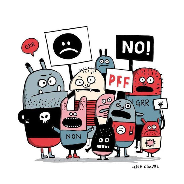 Illustration d'Elise Gravel (elisegravel.com)
