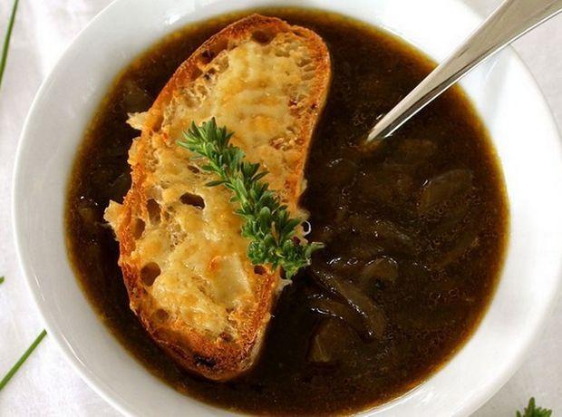 Φτιάξε μια ζεστή σούπα με άρωμα Γαλλίας.