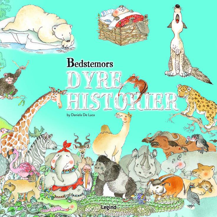 BEDSTEMORS DYREHISTORIER - Følg otte dyreunger ud på forunderlige eventyr, hvor de lærer en masse om venskab, loyalitet, familie og meget mere. I de smukt illustrerede historier kan du læse om, hvordan dyr lever rundt omkring i verden. Denne sjove og oplysende bog er fyldt med spændende historier og er nok til mange timers underholdning.