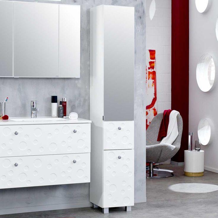 Superb  schrank badschrank badmoebel badezimmerhochschrank badeschrank badezimmerschraenke badezimmer badhochschrank Spiegelschrank mit Beleuchtung