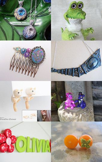 My croco was added to Limitless by barbara estock on Etsy