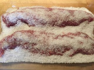 Voici mes créations : Foto-recette: Filet de porc séché facile