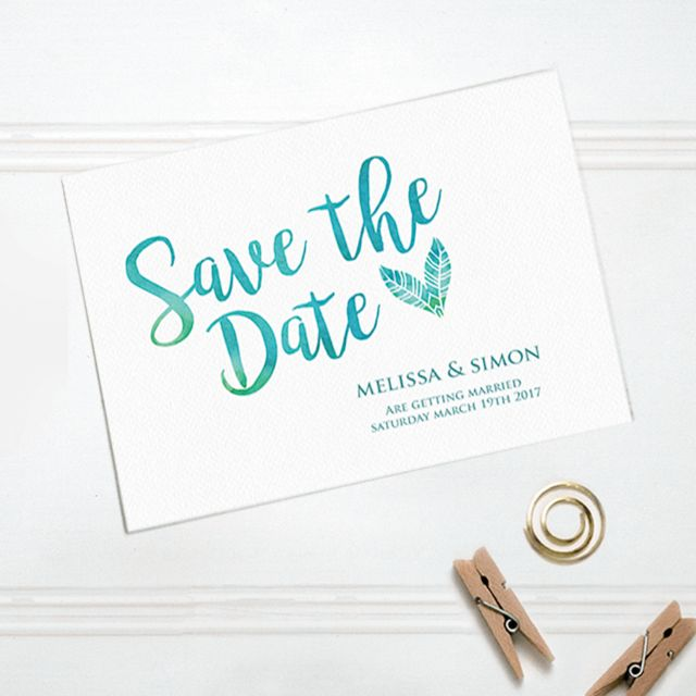 21 best boho weddings images on pinterest boho wedding eilyk papery featherly love save the date stopboris Images