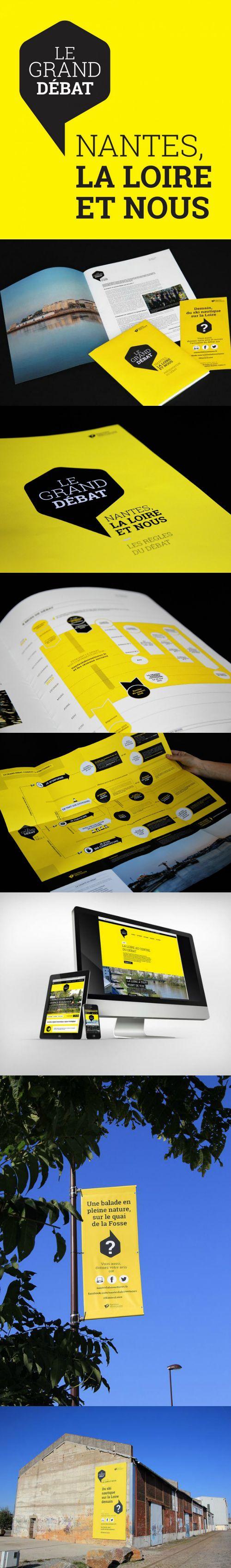 Métropole   Grand Débat   com publique   campagne   2014   création   identité   communication   conception   déploiement  