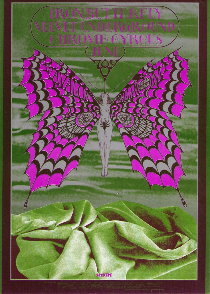 15 Best Psychedelic Velvet Underground Show Posters Images