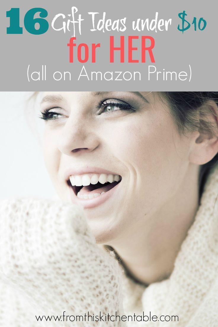 Great List Of Cheap Gift Ideas For Her Perfect Your Friend Sister Mom Coworker And They Are All Under 10 On Amazon Prime