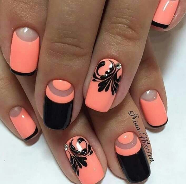 Nails Quenalbertini: Nail art design by Irina Marten I would love these in different colors.