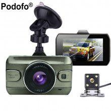 #DashCams #MyPick #Motors #Electronics #Autos  Podofo Dual Lens Car DVR Cam Dashcam 1080P Full HD Video Registrator Recorder Backup Rearview Camera G-Sensor Night Vision Dvrs | 48.33 $ | Best price guarantee!