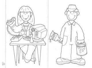 ☆ Aprendendo sempre com: Profª Célia ☆: Atividades - profissões