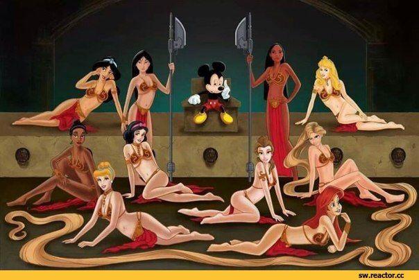 Disney,дисней и все героини,микки маус,Принцесса Лея,Лея Органа,Звездные Войны,Star Wars,фэндомы