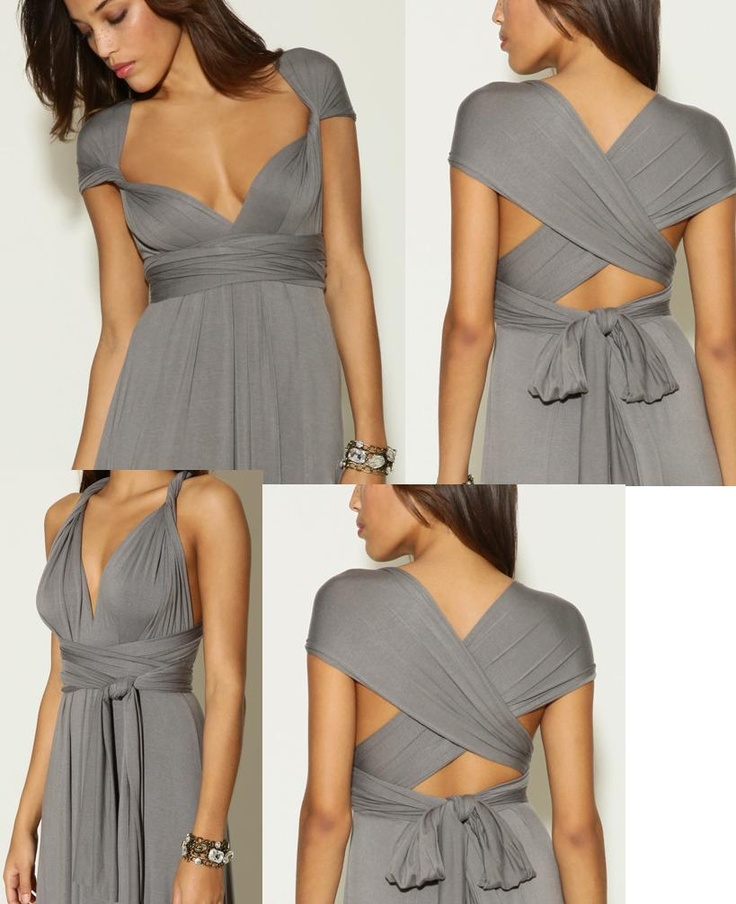 I think every woman should have an infinity dress.