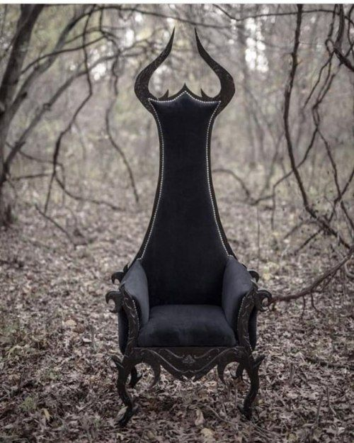 Amazing Chair Gothic House Furniture Funky Decor