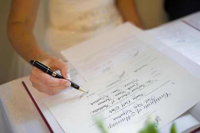 Basics of Marriage Licenses and Paperwork