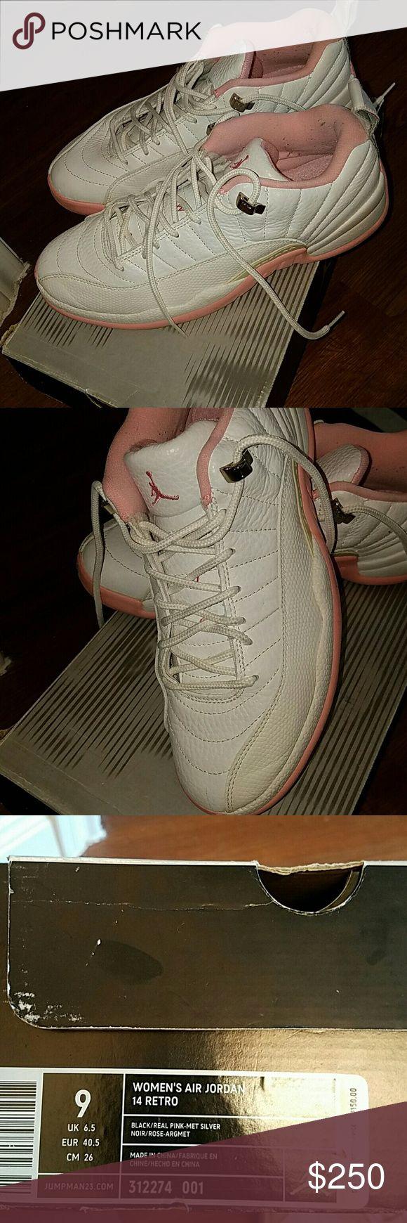 Women's Jordan Retro 14 Pink ' Metallic Silver retro 14s......RARE! Jordan Shoes Sneakers