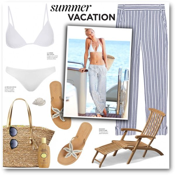 End of Summer Vacation by katrinaalice on Polyvore featuring mode, Splendid, Eres, Topshop, ASPIGA, Sun Bum, Skagerak, Victoria's Secret and Lilly Pulitzer