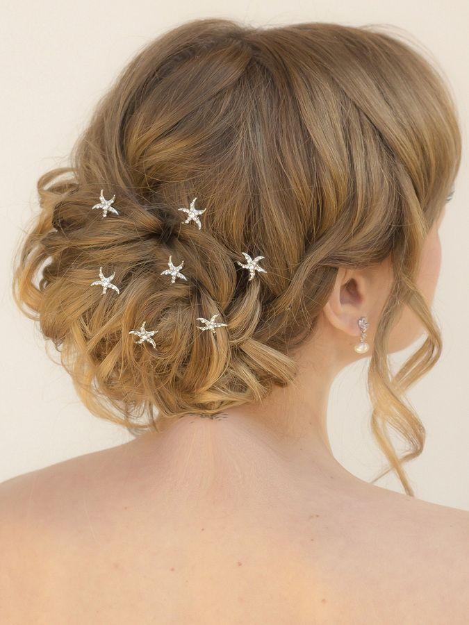 Mini Starfish Hair Pins Dari Bridal Accessories By Comes The