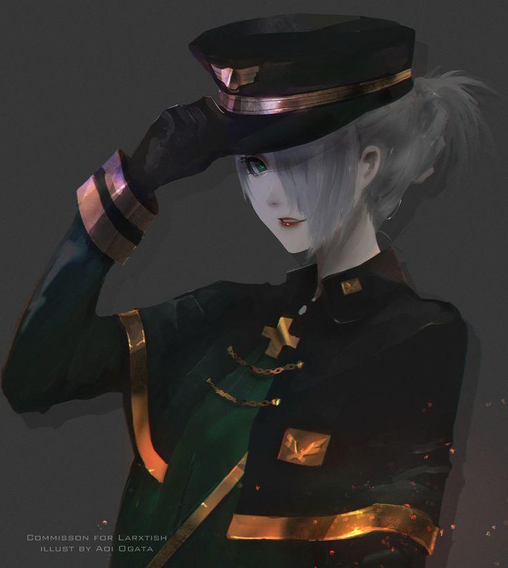 ArtStation - Officer, Aoi Ogata