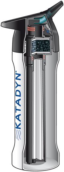 Katadyn Products Inc. Katadyn » Water Filters » Ultralight Series Products » Katadyn MyBottle Microfilter Red Splash