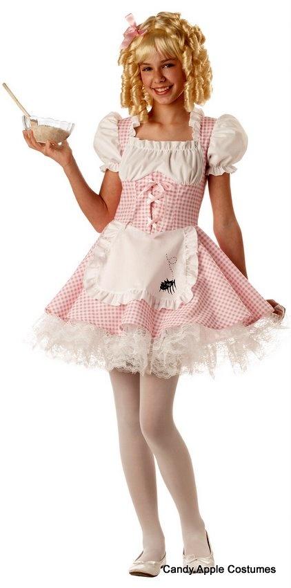 Tween Little Miss Muffet Costume - luv the spider