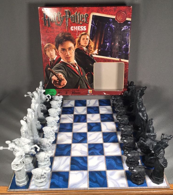 Harry Potter Chess Set Mattel #Mattel