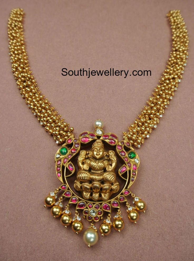 gajjalu necklace