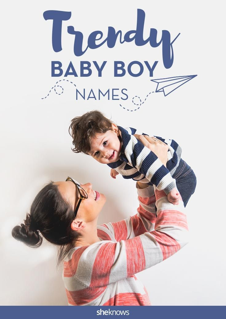 The newest and coolest baby boy names of 2015.