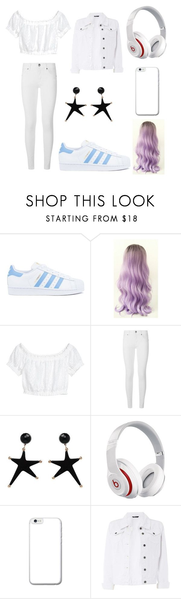 """""""Aaleahya mix"""" by angel-scz ❤ liked on Polyvore featuring adidas, H&M, Burberry, Beats by Dr. Dre and Dorothy Perkins"""