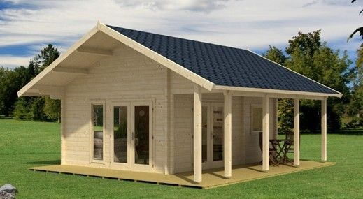 allwood bella cabin kit comes with a loft - Small House Kit