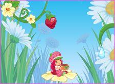 Juegos de Rosita.com - Juego: Strawberry Garden Grows - MiniJuegos para Chicas de Rosita Fresita Tarta de Fresa