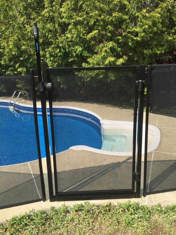 barri re de piscine enfant s cure la cl ture de piscine. Black Bedroom Furniture Sets. Home Design Ideas