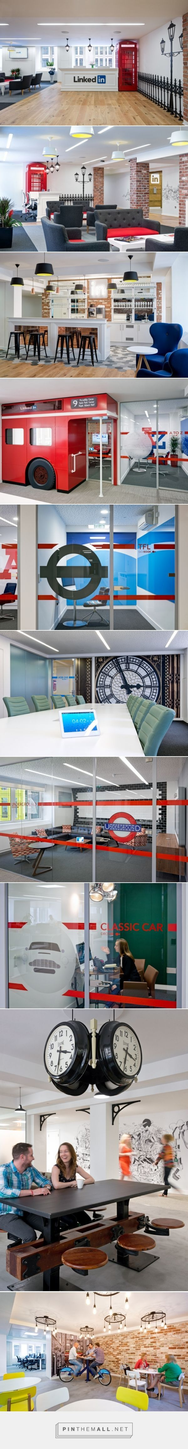 LinkedIn Office By Denton Associates London UK Retail Design Blog